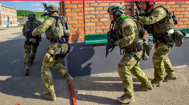 Quy trình huấn luyện chống khủng bố khắc nghiệt của đặc nhiệm Nga - ảnh 2