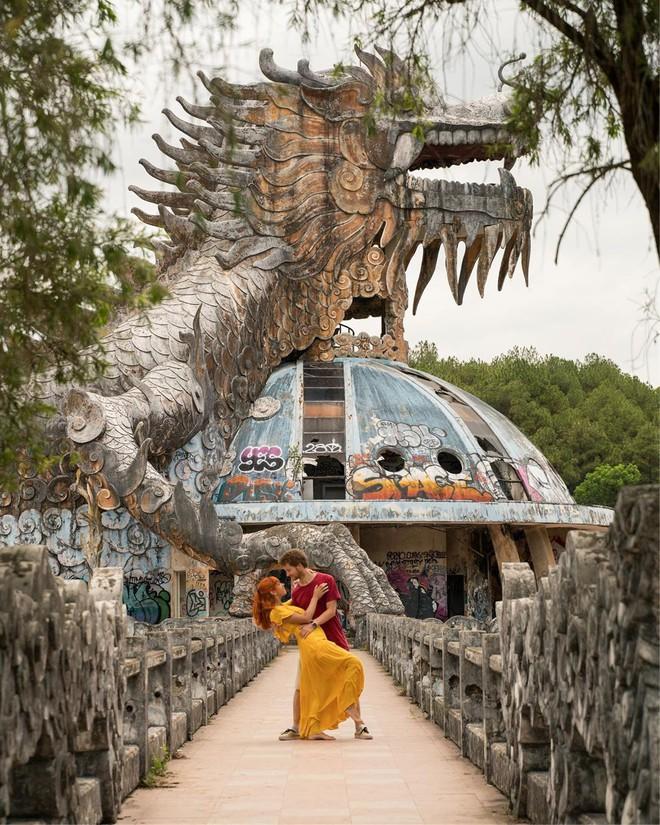 """Công viên nước bị bỏ hoang ở Huế bỗng dưng """"hot"""" trở lại sau 15 năm: Bí ẩn """"ma mị"""" mãi vẫn chưa có lời giải đáp - Ảnh 20."""