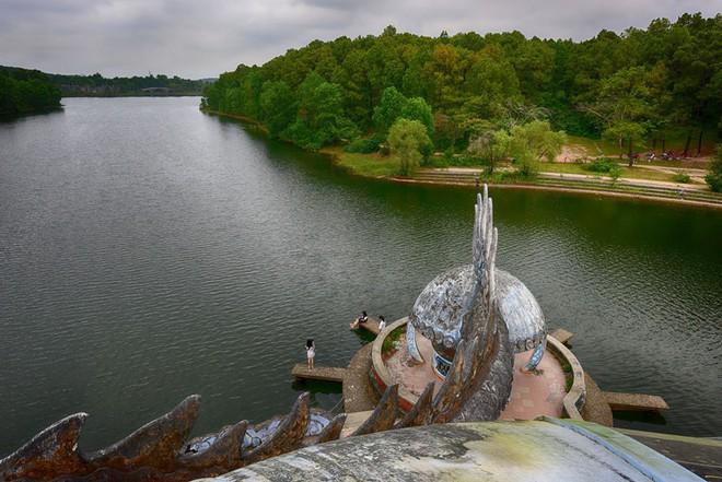 """Công viên nước bị bỏ hoang ở Huế bỗng dưng """"hot"""" trở lại sau 15 năm: Bí ẩn """"ma mị"""" mãi vẫn chưa có lời giải đáp - Ảnh 5."""