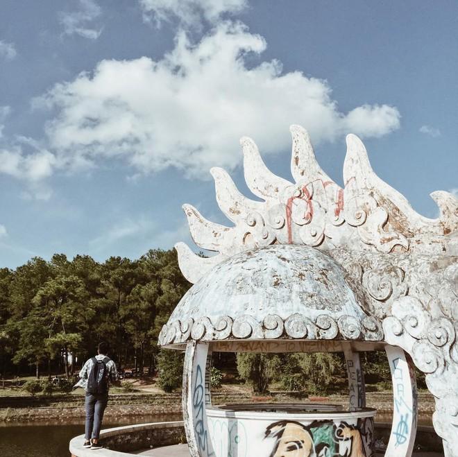 """Công viên nước bị bỏ hoang ở Huế bỗng dưng """"hot"""" trở lại sau 15 năm: Bí ẩn """"ma mị"""" mãi vẫn chưa có lời giải đáp - Ảnh 9."""