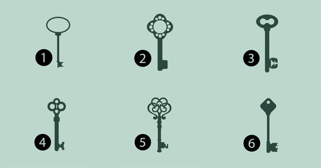 Hãy để tiềm thức lựa chọn chìa khóa bạn thích nhất, đáp án sẽ mở ra bí mật bất ngờ về bạn - Ảnh 1.