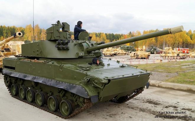 Pháo tự hành đổ bộ đường không Lotos:  Vũ khí đáng gờm mới của lính dù Nga!