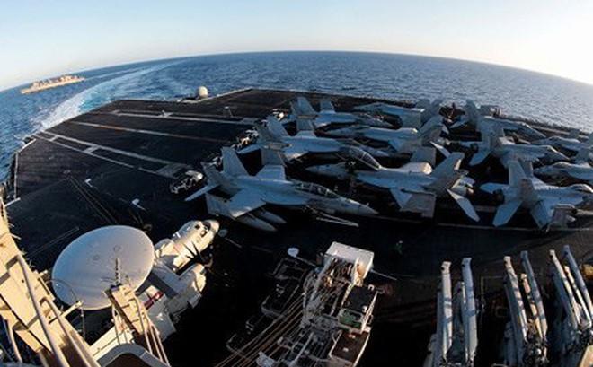 Iran lên tiếng đáp trả Mỹ khi đội tàu sân bay áp sát vịnh Ba Tư