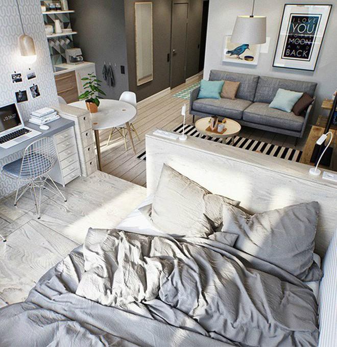 5 lời khuyên hữu ích giúp bạn sống thoải mái trong không gian nhỏ - Ảnh 6.