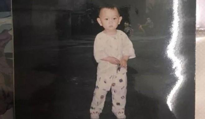 Cậu bé Panpan - con trai của Zhu bị bắt cóc năm 1992.
