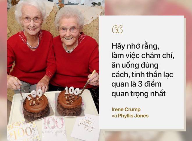 Cặp song sinh 100 tuổi: Tất cả bí quyết sống thọ chỉ là làm tốt 3 việc đơn giản hàng ngày - ảnh 2