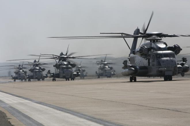 Màn biểu dương lực lượng hoành tráng của Không quân Thủy quân lục chiến Mỹ - ảnh 6