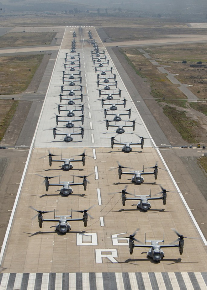Màn biểu dương lực lượng hoành tráng của Không quân Thủy quân lục chiến Mỹ - ảnh 11