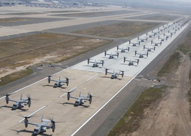 Màn biểu dương lực lượng hoành tráng của Không quân Thủy quân lục chiến Mỹ - ảnh 4