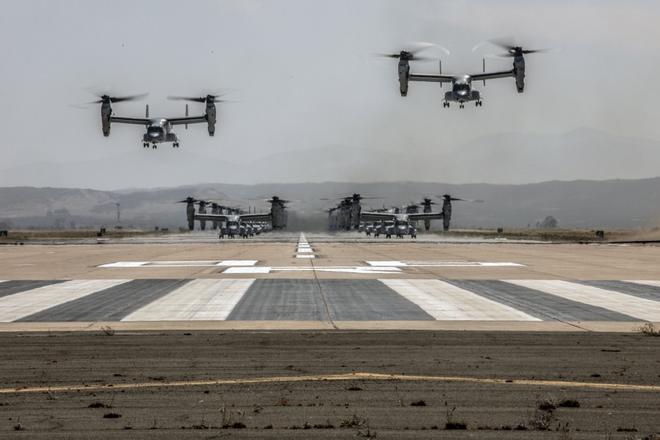 Màn biểu dương lực lượng hoành tráng của Không quân Thủy quân lục chiến Mỹ - ảnh 9