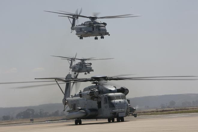Màn biểu dương lực lượng hoành tráng của Không quân Thủy quân lục chiến Mỹ - ảnh 8