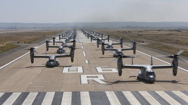 Màn biểu dương lực lượng hoành tráng của Không quân Thủy quân lục chiến Mỹ - ảnh 2