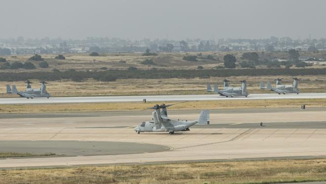 Màn biểu dương lực lượng hoành tráng của Không quân Thủy quân lục chiến Mỹ - ảnh 3