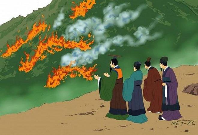 Sự tích tết Hàn thực và người hiền sĩ tự xẻ thịt mình để nấu cho vua - Ảnh 2.