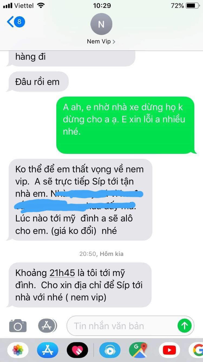 Bị nhỡ xe, ông chủ Thanh Hóa chạy 150 km giao 50 nem chua cho khách - Ảnh 2.