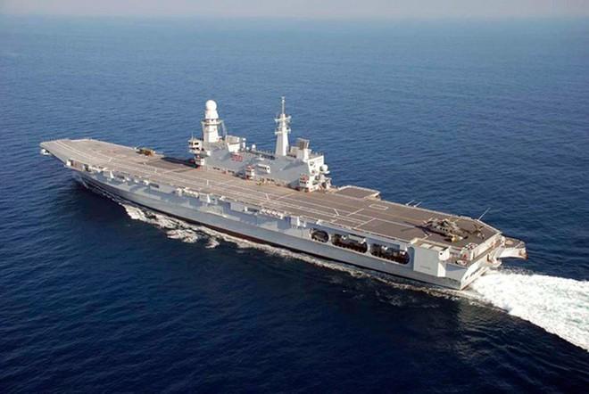 Khám phá sức mạnh hàng không mẫu hạm nhỏ nhất châu Âu - ảnh 9