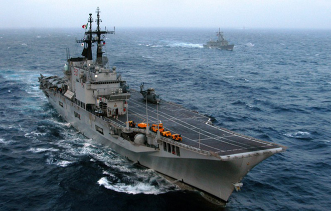 Khám phá sức mạnh hàng không mẫu hạm nhỏ nhất châu Âu - ảnh 10