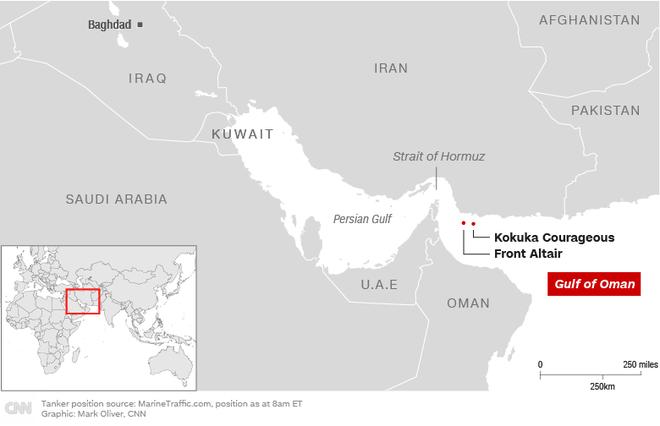 Hoa Kỳ vừa phát hiện thủ phạm tấn công 2 siêu tàu dầu - Hạm đội 5 Mỹ nhận tín hiệu khẩn nguy - Ảnh 5.