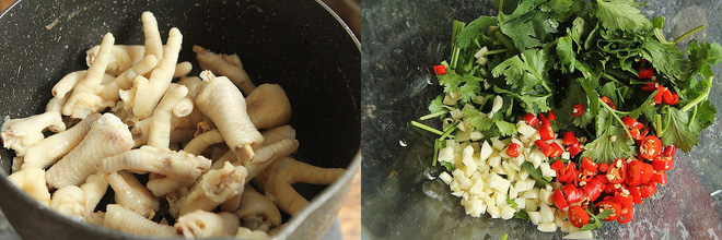 Tôi học được công thức làm chân gà trộn chua cay, làm cả kí mà dọn ra hết ngay trong 1 nốt nhạc! - Ảnh 2.