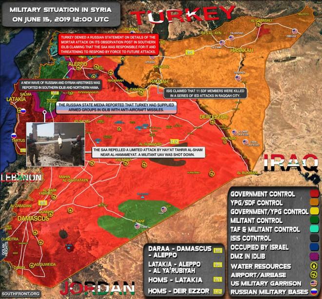 Kho đạn lớn của QĐ Syria nổ tung, thiệt hại nặng nề - Quân Thổ bị tấn công, khẩn cấp nhờ Nga ứng cứu - Ảnh 4.