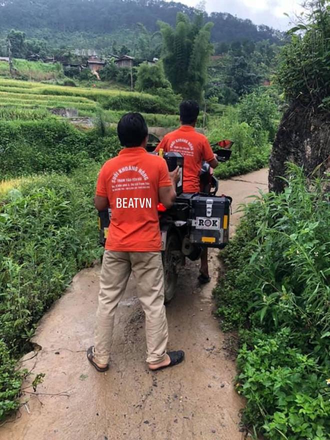 Phượt thủ trung niên Hàn Quốc lao xe xuống mương và sự cứu giúp kịp thời của 2 người đàn ông Việt - ảnh 3