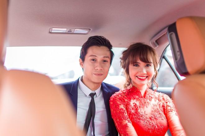 Huyền Lizzie từng có một đám cưới hết mực giản dị thế này vào năm 2014 với người chồng bị hiểu lầm là đại gia - ảnh 2