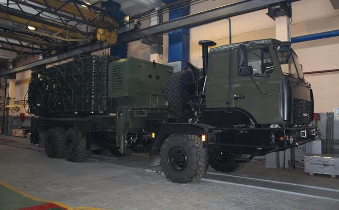 Tổ hợp radar Vostok do công ty KBRadar của Belarus chế tạo.