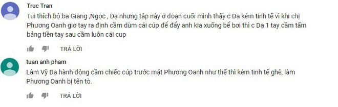 Lâm Vỹ Dạ bị chỉ trích vì hành xử thiếu tinh tế khiến Phương Oanh bị quê - Ảnh 5.