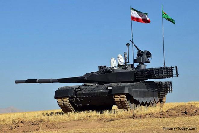 Karrar - Xe tăng chủ lực có sức mạnh không thể xem thường của Iran - ảnh 1
