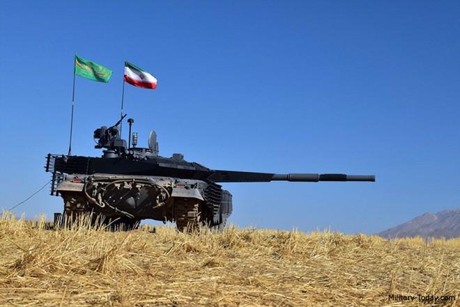 Karrar - Xe tăng chủ lực có sức mạnh không thể xem thường của Iran - ảnh 5