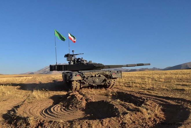 Karrar - Xe tăng chủ lực có sức mạnh không thể xem thường của Iran - ảnh 6