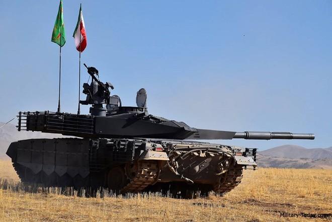 Karrar - Xe tăng chủ lực có sức mạnh không thể xem thường của Iran - ảnh 7
