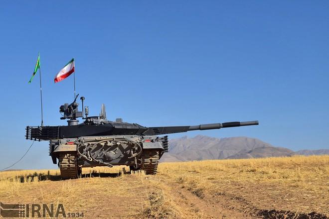 Karrar - Xe tăng chủ lực có sức mạnh không thể xem thường của Iran - ảnh 8