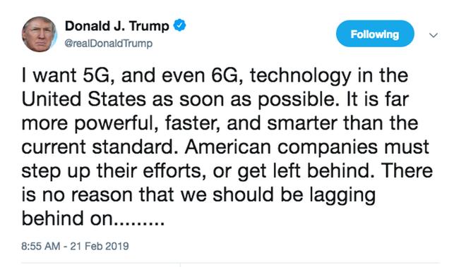 Trung Quốc và Mỹ đã bắt đầu cuộc đua 6G, hóa ra giấc mơ của ông Trump không quá xa vời - Ảnh 1.