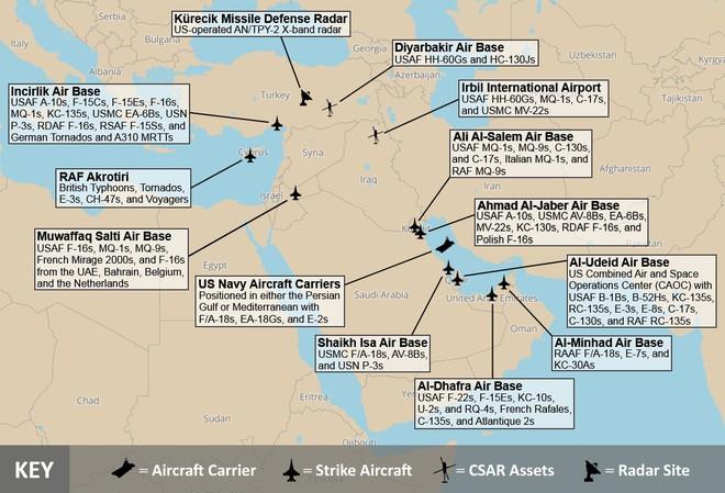 Giật mình với các căn cứ Mỹ trong tầm hủy diệt của tên lửa Iran: Trạng chết, chúa băng hà? - ảnh 1