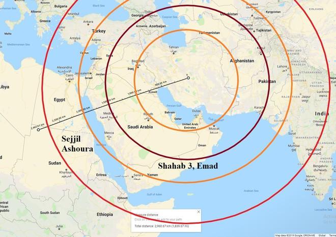Giật mình với các căn cứ Mỹ trong tầm hủy diệt của tên lửa Iran: Trạng chết, chúa băng hà? - ảnh 3