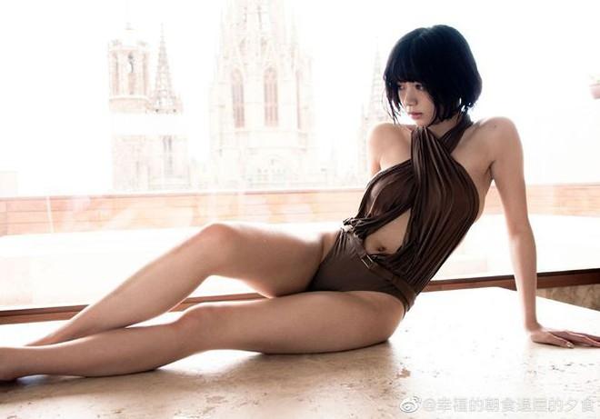 Vẻ đẹp lai Á-Âu nóng bỏng của nữ hoàng cảnh nóng Nhật Bản - Ảnh 13.