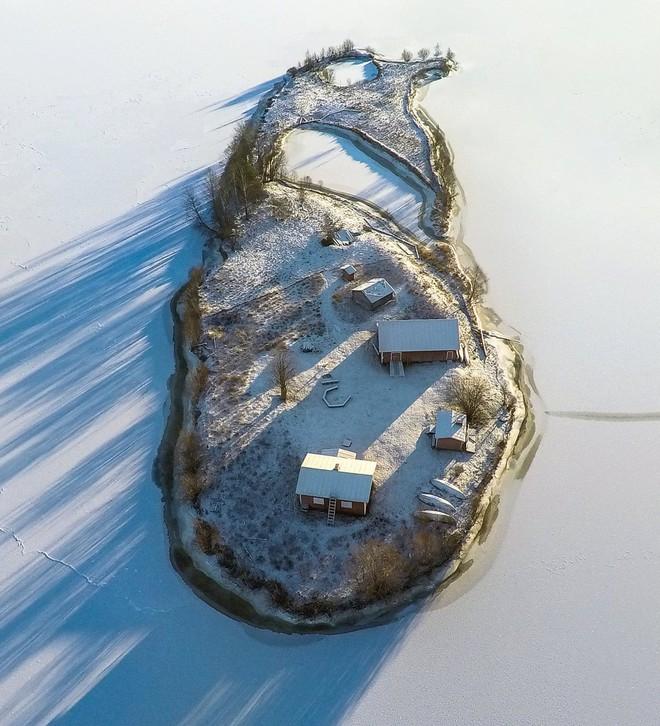 Đảo tí hon Kotisaari bốn mùa thay lá đẹp như trong cổ tích, ai nhìn cũng ao ước được đặt chân đến một lần trong đời - Ảnh 5.