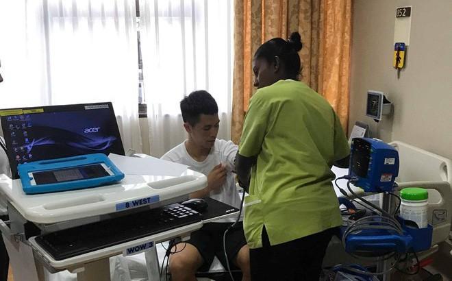 Trong ngày tạo nên chiến tích lịch sử, Hà Nội FC nhận thêm tin vui về Đình Trọng