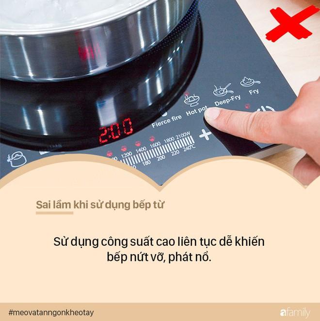 Sai lầm khi sử dụng bếp từ có thể khiến cả nhà gặp họa - bỏ ngay kẻo hối không kịp - Ảnh 2.