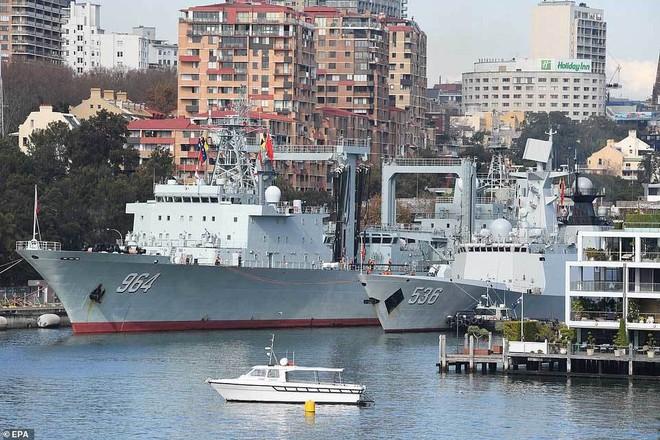 Tàu chiến TQ bất ngờ ghé cảng Sydney, dân Australia ngỡ ngàng - ảnh 5