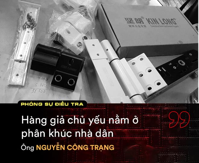 Trưởng phòng Kinh doanh KIN LONG: Không thể kiểm soát được hàng giả trên thị trường - Ảnh 2.