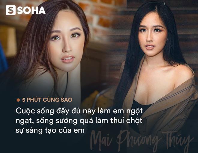 Hoa hậu Mai Phương Thúy: Cuộc sống đầy đủ làm em ngột ngạt, có lẽ em phải từ bỏ cuộc sống nhung lụa này - Ảnh 4.