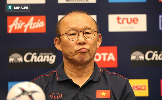 Không vui khi họp báo, HLV Park Hang-seo từ chối trả lời câu hỏi