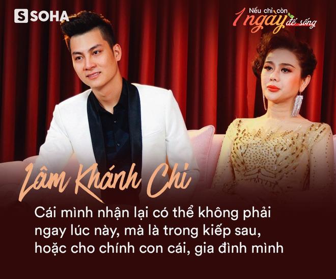 Lâm Khánh Chi: Nếu còn một ngày để sống, tôi muốn trả hiếu cha mẹ, cảm ơn chồng và làm đám cưới cho người đồng giới - Ảnh 1.