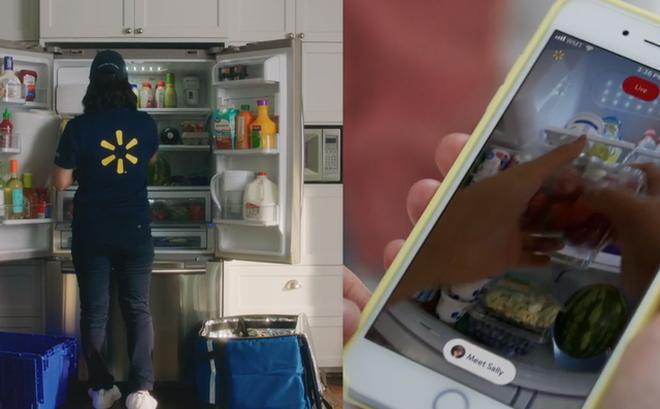 Chuyện lạ có thật: Dịch vụ ship đồ ăn từ siêu thị đến tận ... tủ lạnh