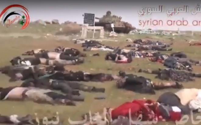 """CẬP NHẬT: Thật khủng khiếp, phiến quân """"chết như ngả rạ"""" - Mỹ, Đức có hành động lạ ở Syria"""