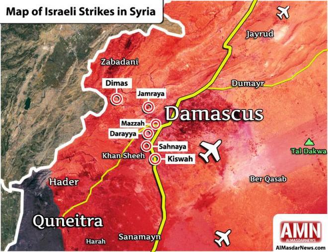 CẬP NHẬT: Tên lửa Nga bắn trượt máy bay Israel nổ tan tành, S-300 Syria trơ mắt nhìn đất nước bị tấn công - Ảnh 2.