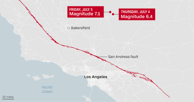 Siêu động đất mạnh 6,2 triệu TNT sắp trỗi dậy, tàn phá khốc liệt  bờ Tây nước Mỹ? - ảnh 2