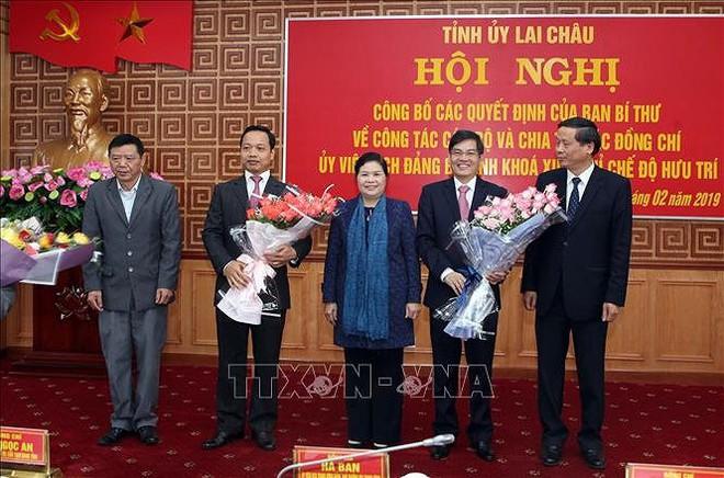 Những nhân sự mới được Bộ Chính trị, Ban Bí thư điều động, luân chuyển - Ảnh 4.
